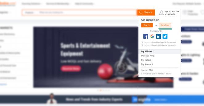 Como comprar no Alibaba?