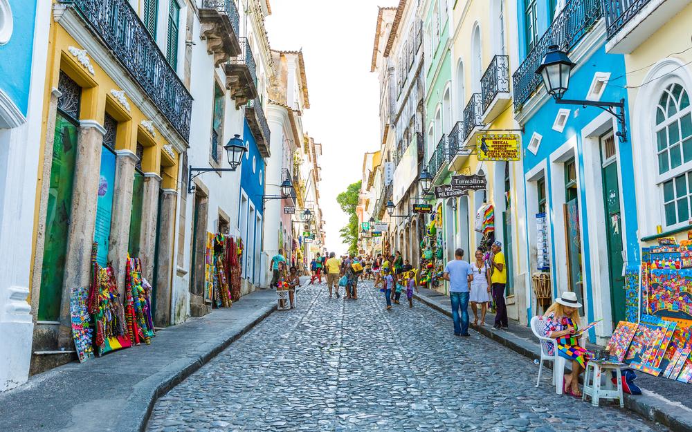Salvador, Bahia/BR. Fonte: Shutterstock