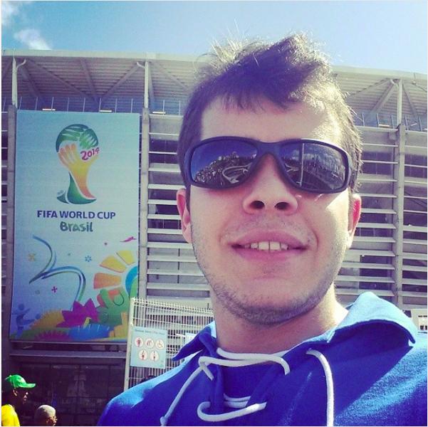 Vitor Brixi na Copa do Mundo de 2014