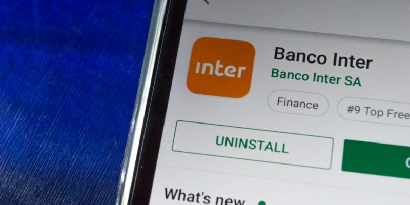 aplicativo do Banco Inter