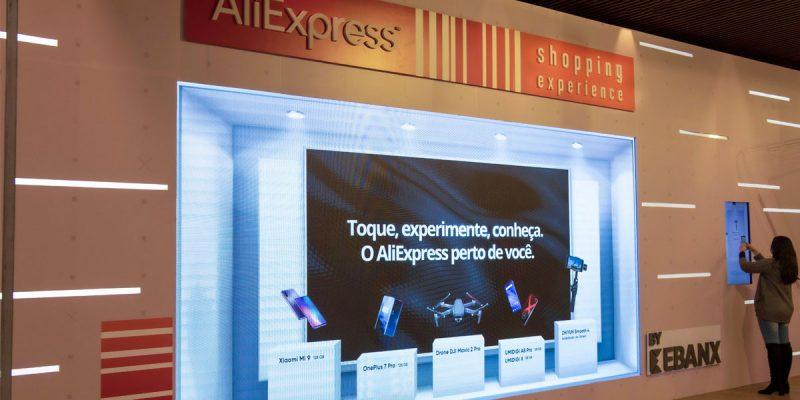 Aliexpress lança loja de experiencias no Brasil