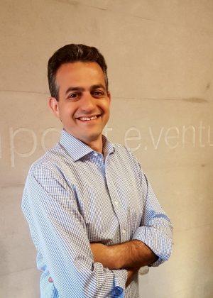 Rodrigo Baer, sócio da Redpoint eventures, na sede da empresa, em São Paulo