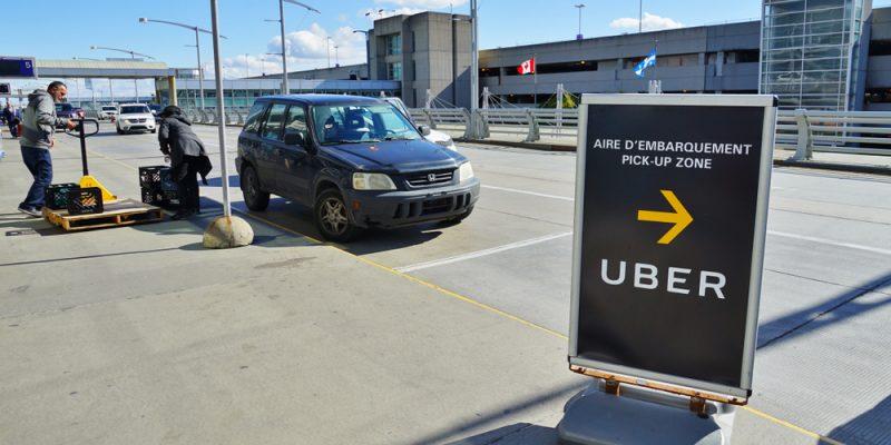Uber em aeroportos