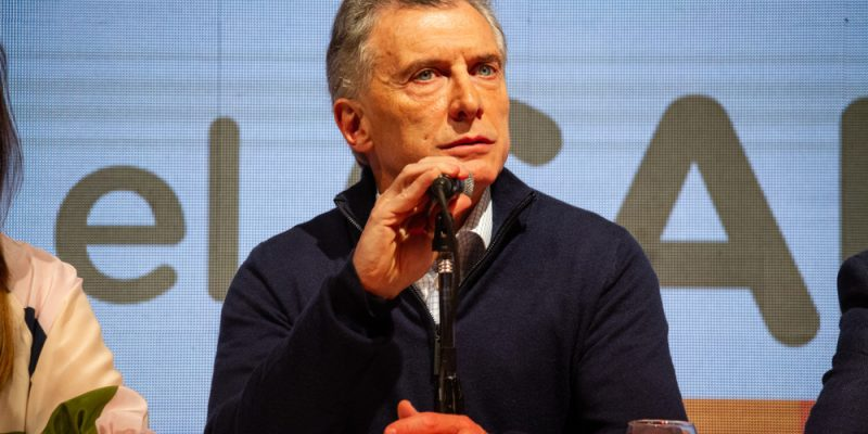 O atual presidente da Argentina, Mauricio Macri.