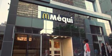 Fachada da unidade do McDonald's da Avenida Paulista em São Paulo