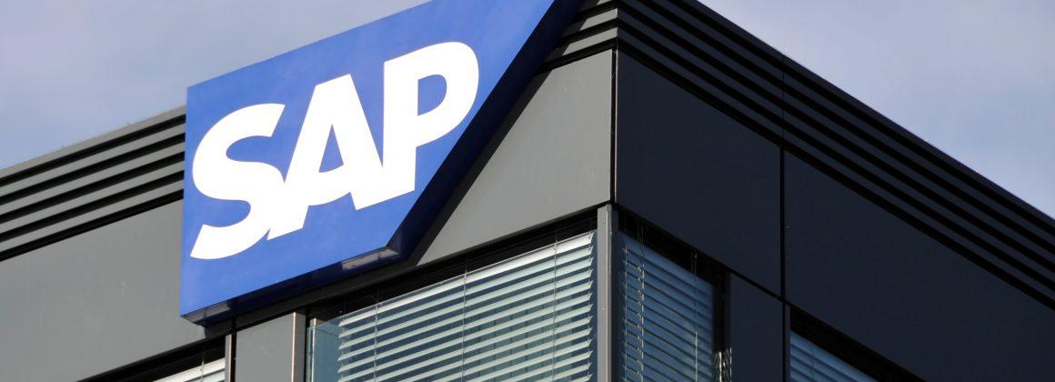 símbolo da empresa SAP