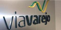 logomarca da Via Varejo, dona das Casas Bahia e Ponto Frio