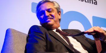O candidato oposicionista às eleições presidenciais da Argentina, Alberto Fernández