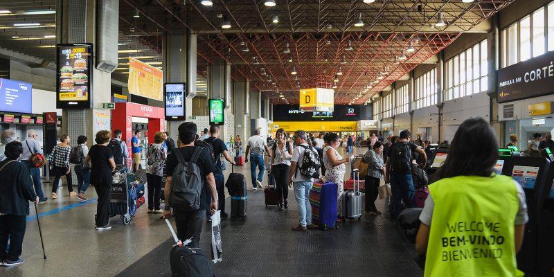 aeroporto internacional Guarulhos Brasil