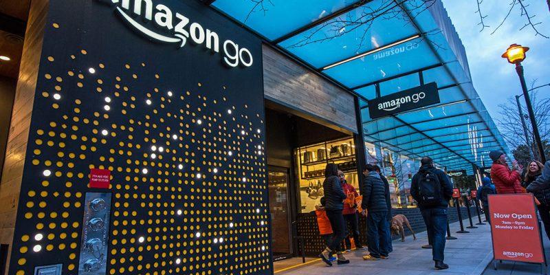 Amazon Go em Seattle, EUA.