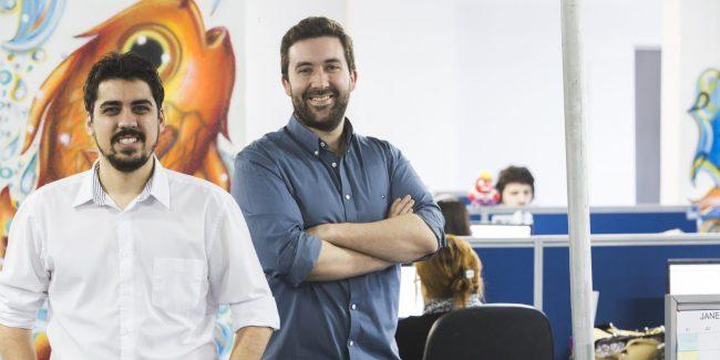 Théo Orosco e Felipe Roman, fundadores da Exact Sales.