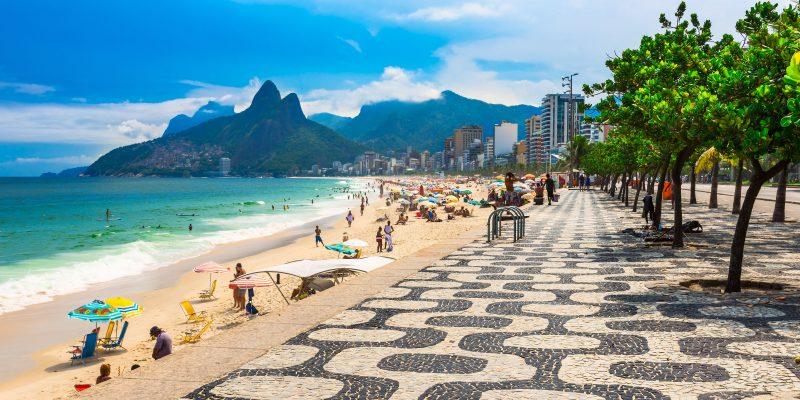 Praia de Ipanema, Rio.