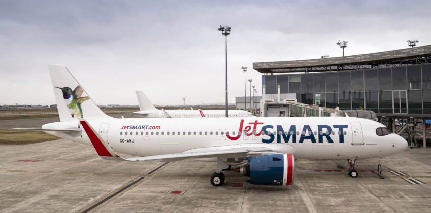 aeronaves da chilena JetSMART