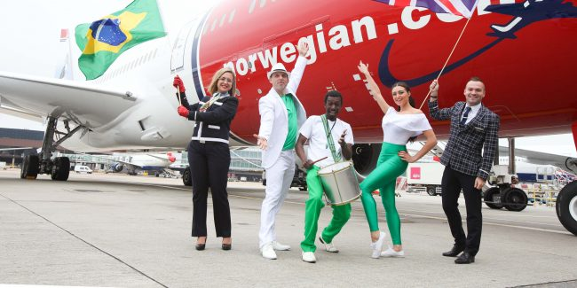 Norwegian foi segunda a pedir para operar no país