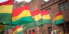 protestos na Bolivia