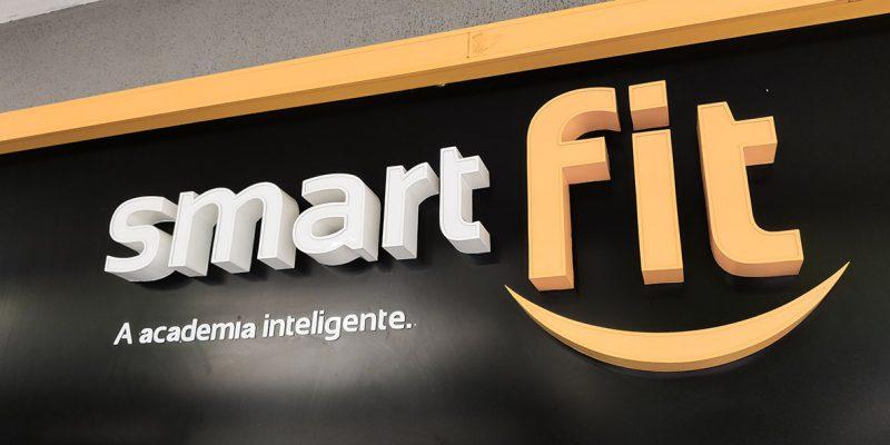 Academia Smart Fit no Rio.