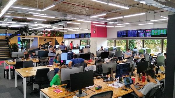 escritório da VTEX