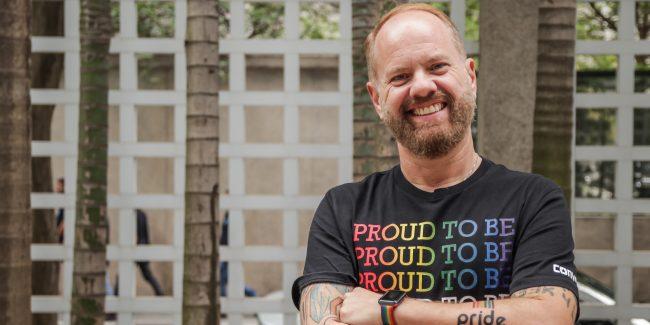 Na foto, o CEO do Pride, Márcio Orlandi Junior.