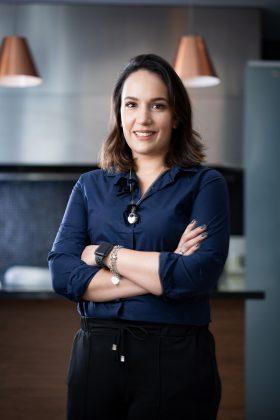 Matilde Arruda, dona de dois restaurantes de delivery em SP