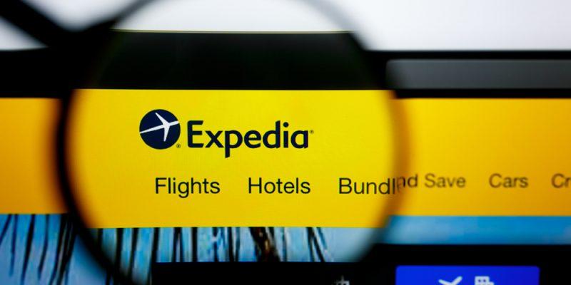 site da Expedia