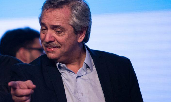 O novo presidente Alberto Fernández
