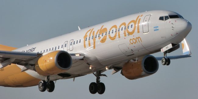 avião da Flybondi