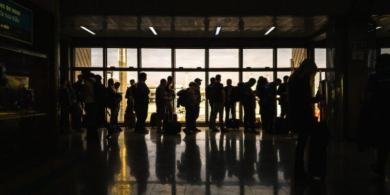 Aeroporto de Guarulhos.