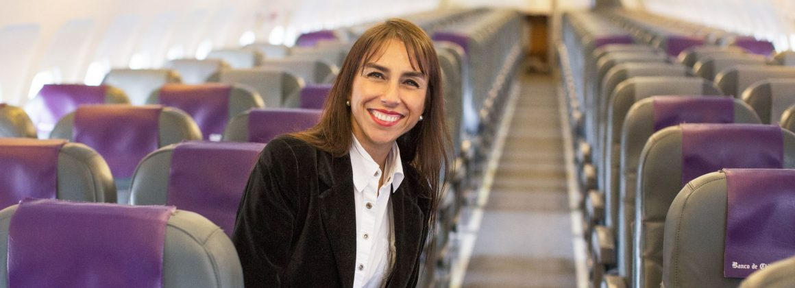 Diretora comercial da Sky, Carmen Gloria Serrat.