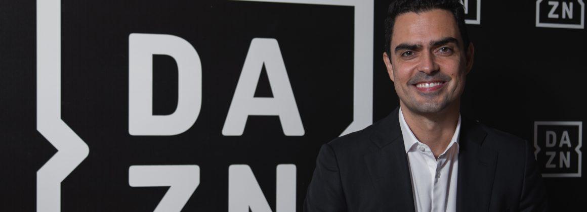 O vice-presidente executivo do DAZN no Brasil, Bruno Rocha.