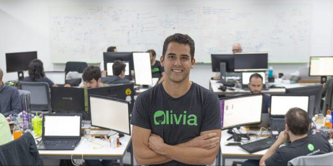 Lucas Moraes, cofundador da Olivia.