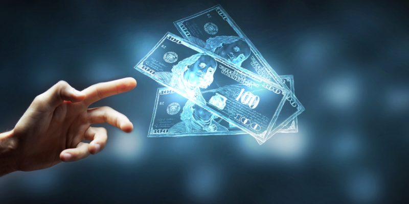 dinheiro virtual