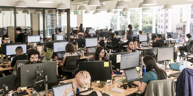 Escritório da Quinto Andar, unicórnio brasileiro focado em compra e venda de imóveis