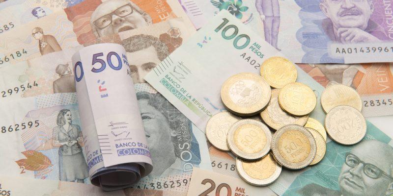 notas de peso colombiano