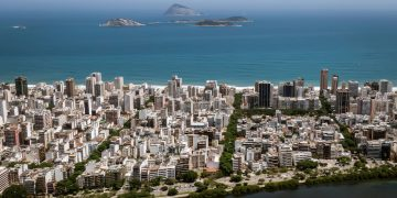 Vista de Ipanema, no Rio.