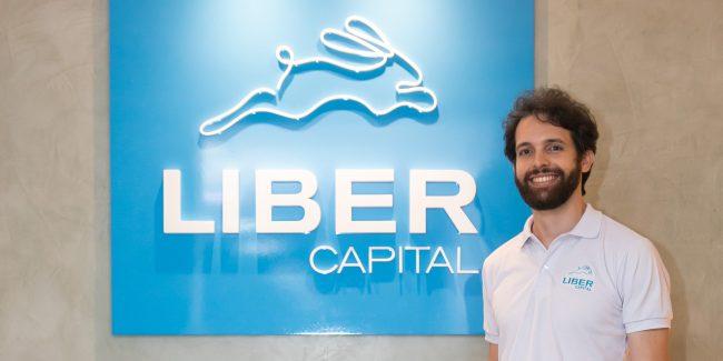 O CEO da fintech Liber, Victor Morandini Stabile