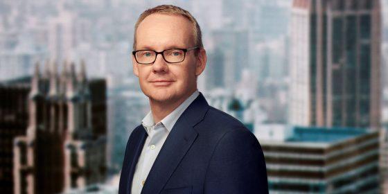 David Lynn, presidente e CEO da ViacomCBS Networks International