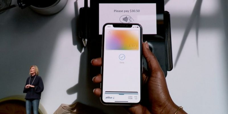 Apple card is launched for employees in the USA