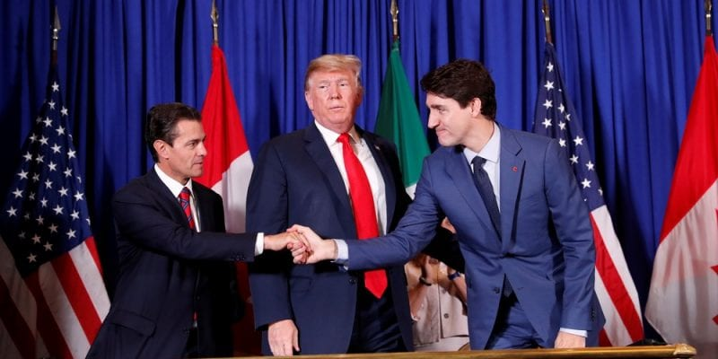 G20 EUA Canada and Mexico announced a new agreement to replace Nafta