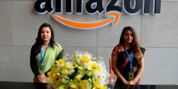 amazon new office in india