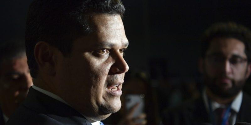 The Presidente of the Brazilian Senate, Davi Alcolumbre.