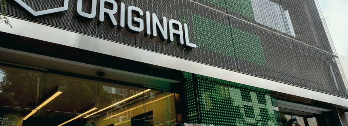 Banco Original's headquarters in Sao Paulo, Brazil.
