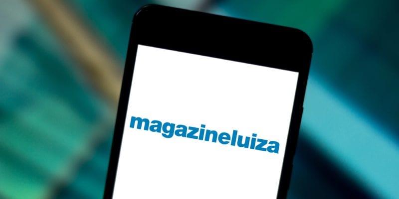 the brand of a brazilian store called magazine luiza