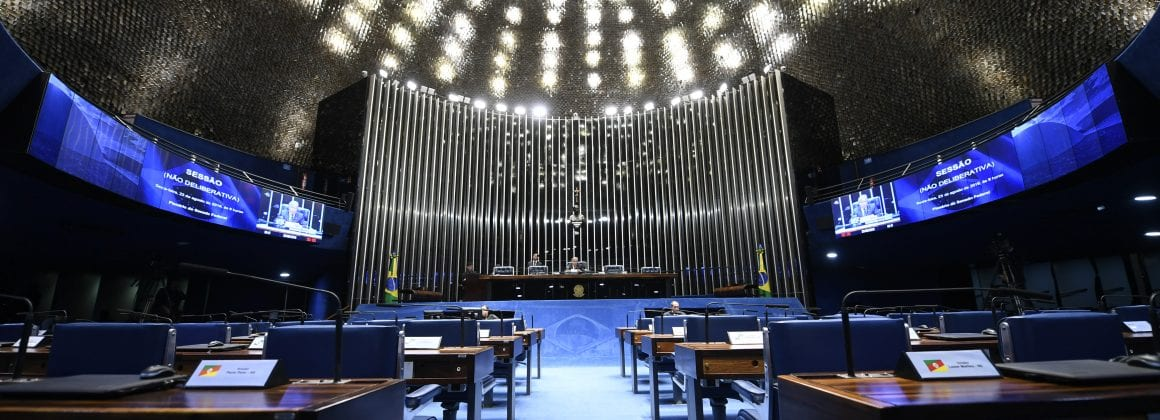 The Brazilian Senate Plenary