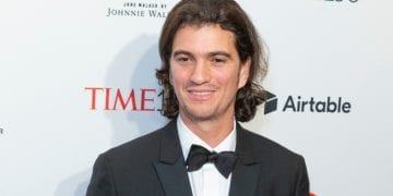 Adam Neumann, co-founder of Snapchat