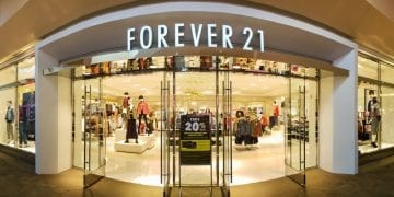 One of the Forever 21 stores in the US