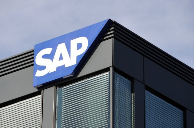 trademark of the german company sap