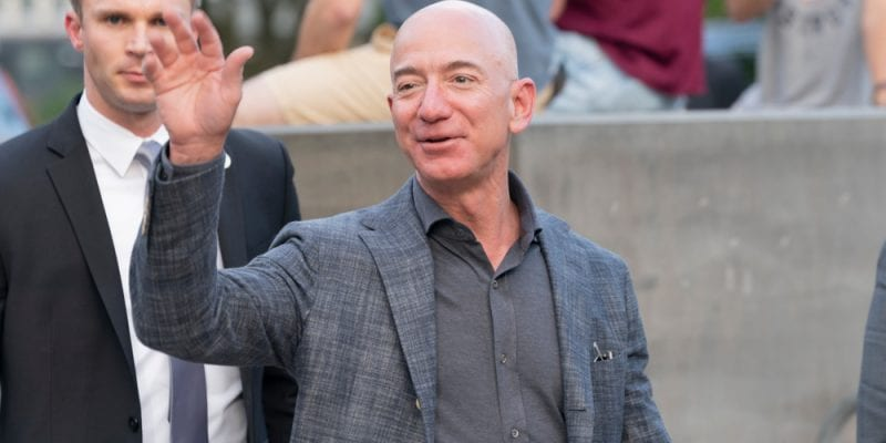 Jeff Bezos pledged to meet the goals of the United Nations Paris Agreement 10 years in advance
