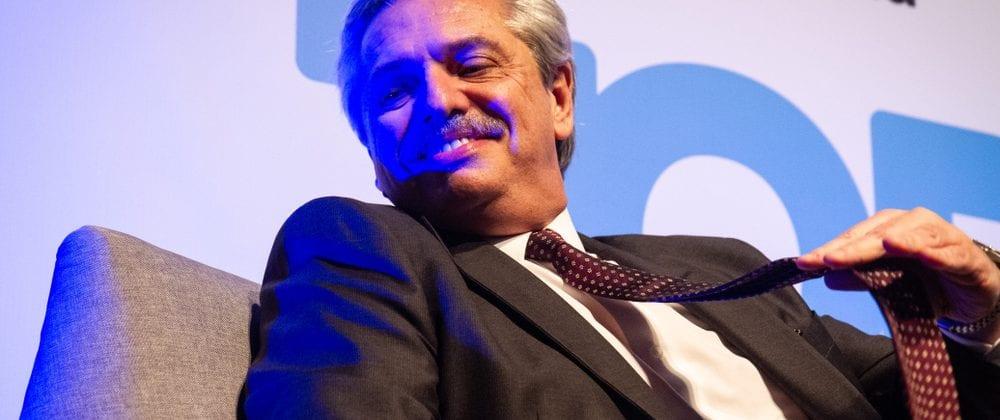 Alberto Fernández, Argentina's centre-left opposition leader