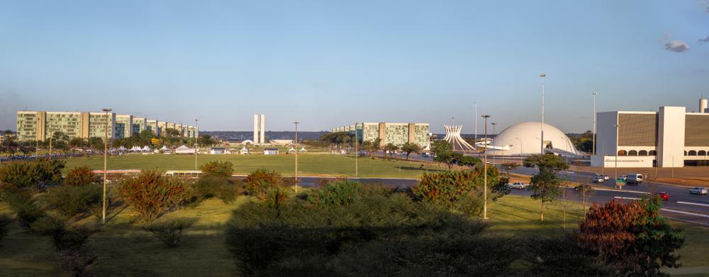 Brasilia, the Federal Capital of Brazil