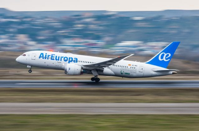 Air Europa airplane